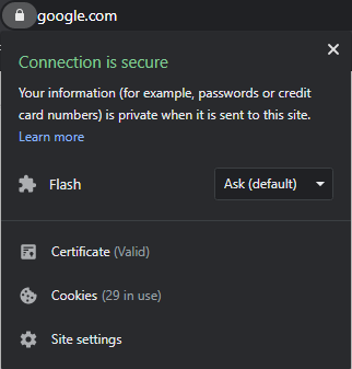 connection-is-secure